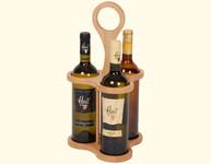 Držák na 3 lahve vína