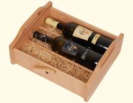 Dřevěná kazeta na víno